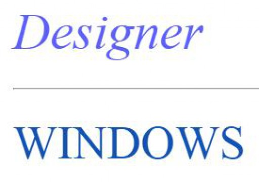 Designer Windows Ltd
