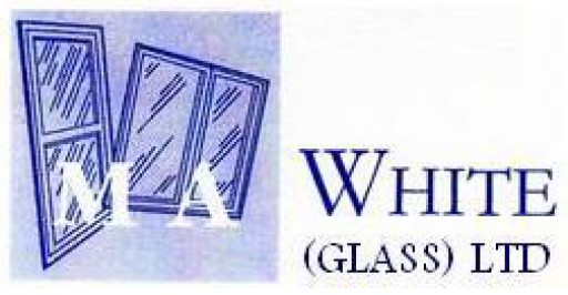 M A White Glass Shop
