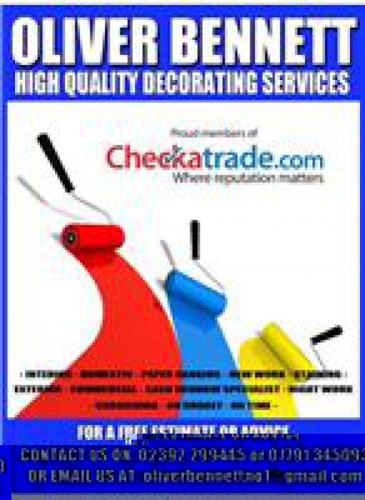 Oliver Bennett High Quality Decorating Services