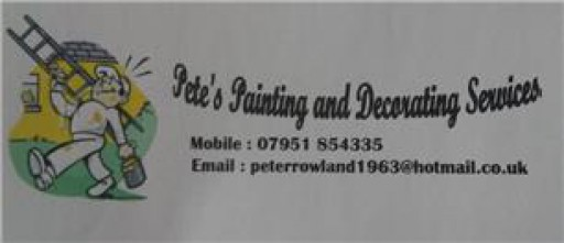 Pete Rowland Painting  And Decorating Services