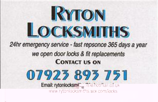 Ryton Locksmiths