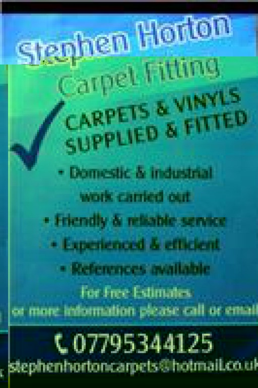 Stephen Horton Carpet Fitting
