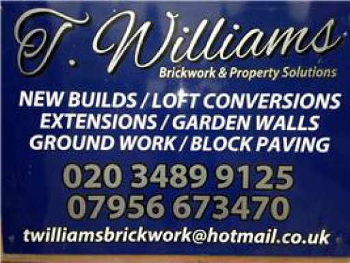 T Williams Brickwork & Property Solutions