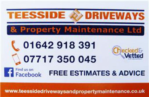 Teesside Driveways & Property Maintenance Ltd